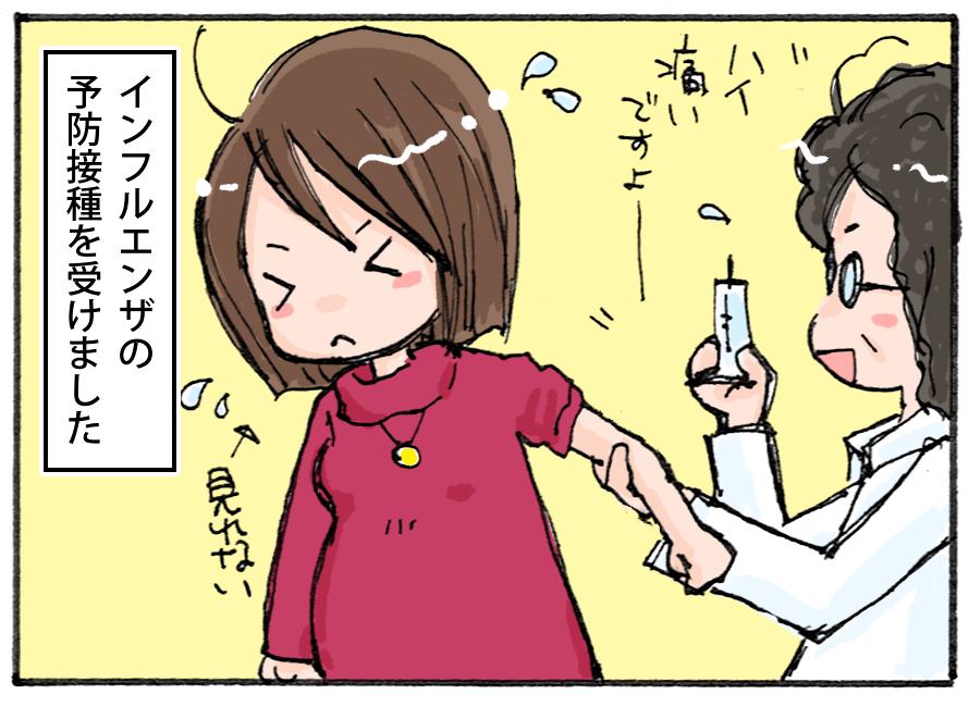 インフルの予防接種