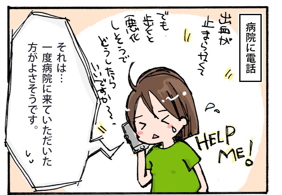 【妊娠4コマ-その12】出血